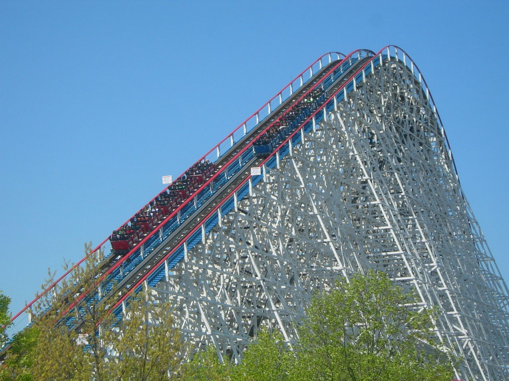 10 Best Roller Coasters: American Eagle
