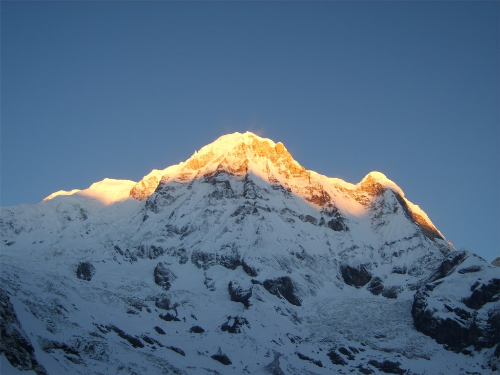10 Highest Mountains In The World: Annapurna I, Himalaya