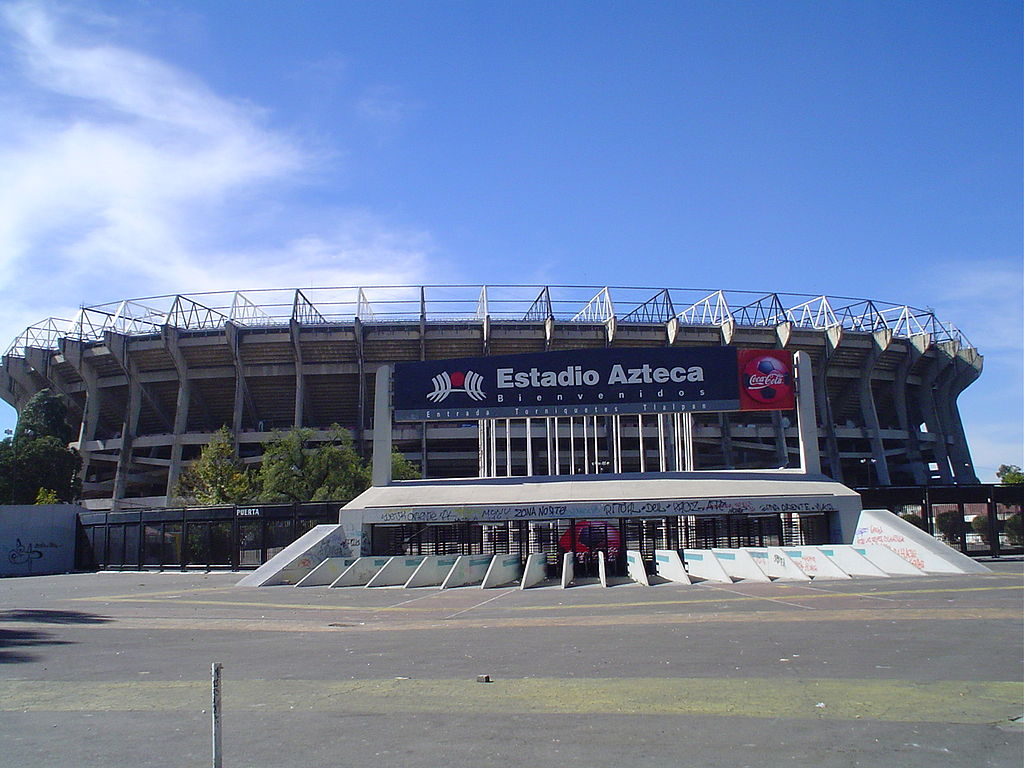 10 Largest Stadiums In The World: Estadio Azteca, Mexico