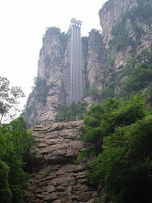The Bailong Elevator, China - Coolest Elevators
