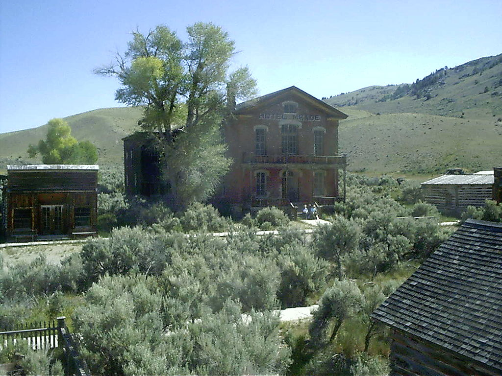 Bannack, Montana, United States - a ghost town