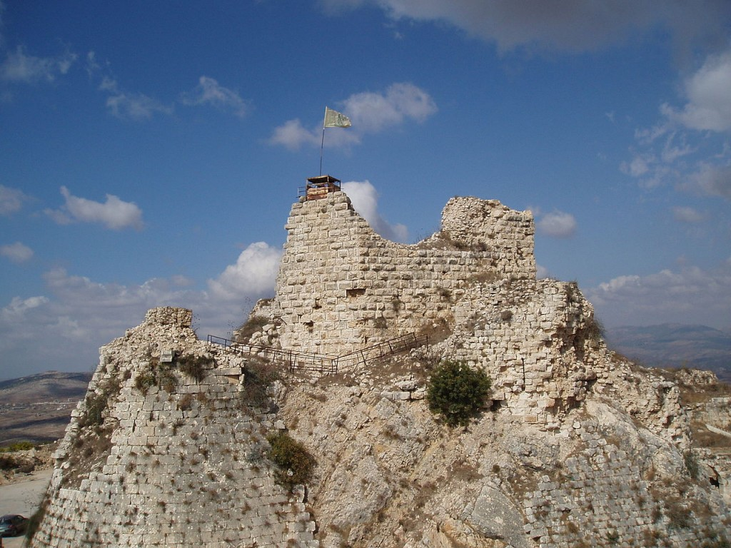 10 Most Impressive Crusader Castles: Beaufort Castle