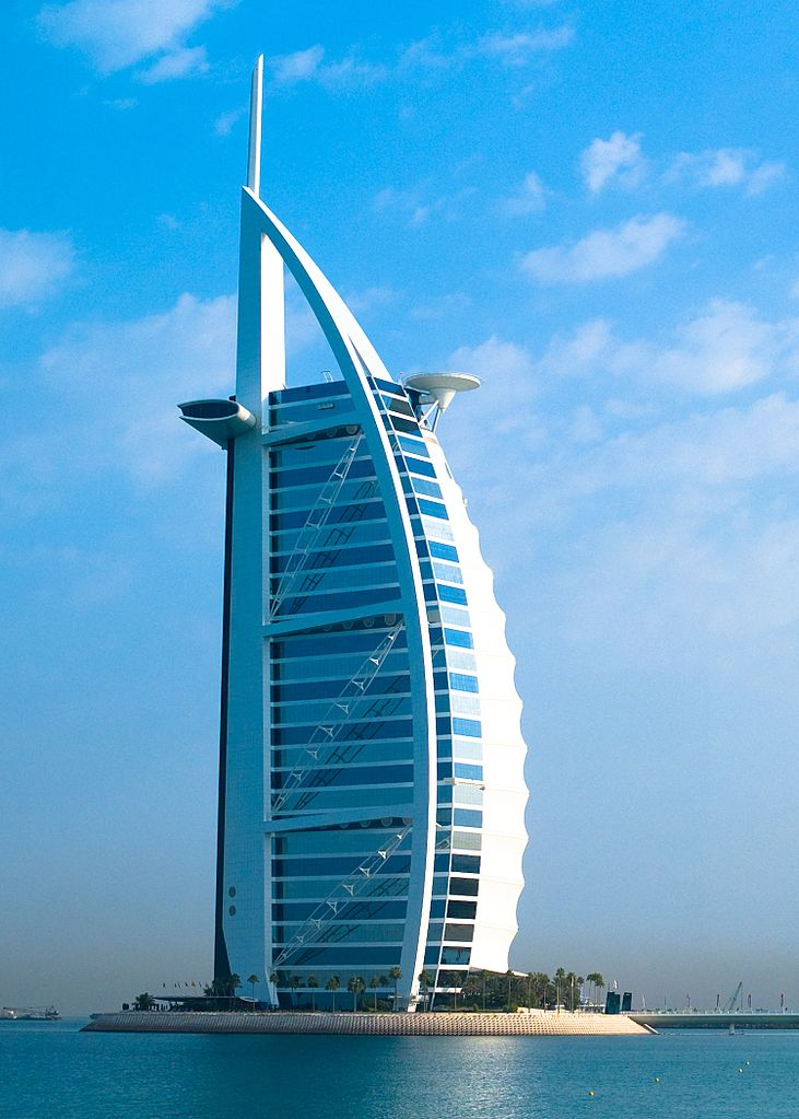 Burj Al Arab, Dubai - Artificial Islands