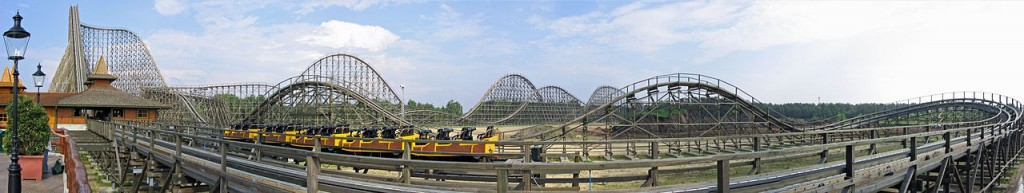 Colossos - the tallest wooden roller coaster in the world