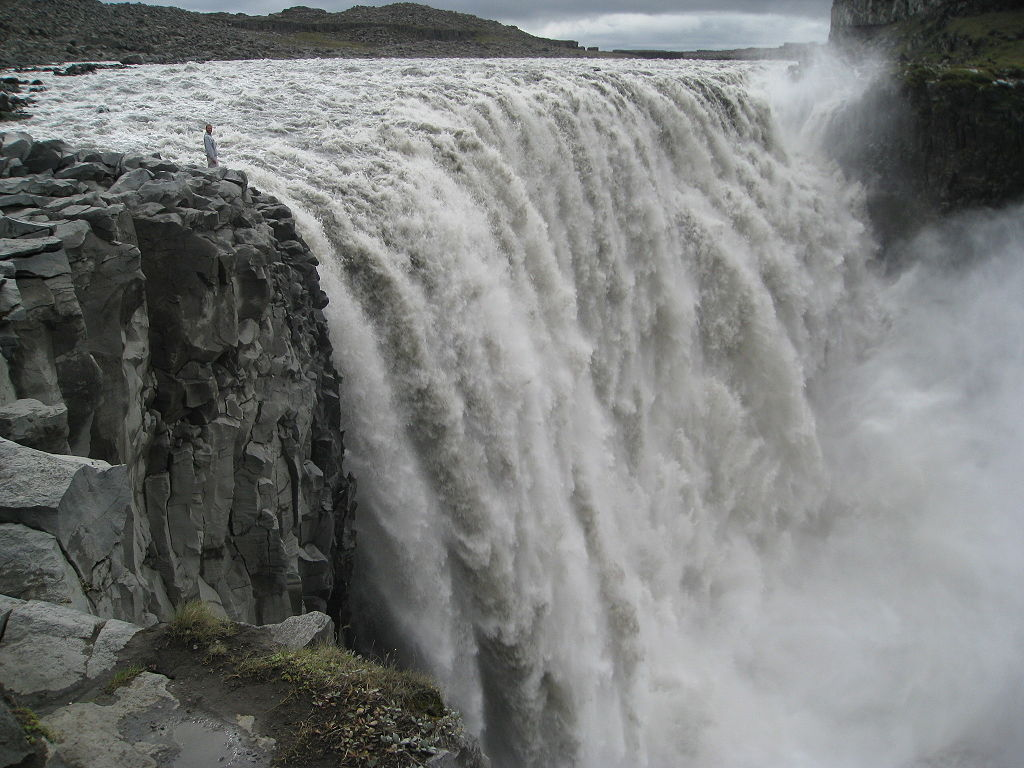 10 Most Amazing Waterfalls In The World: Dettifoss, Iceland