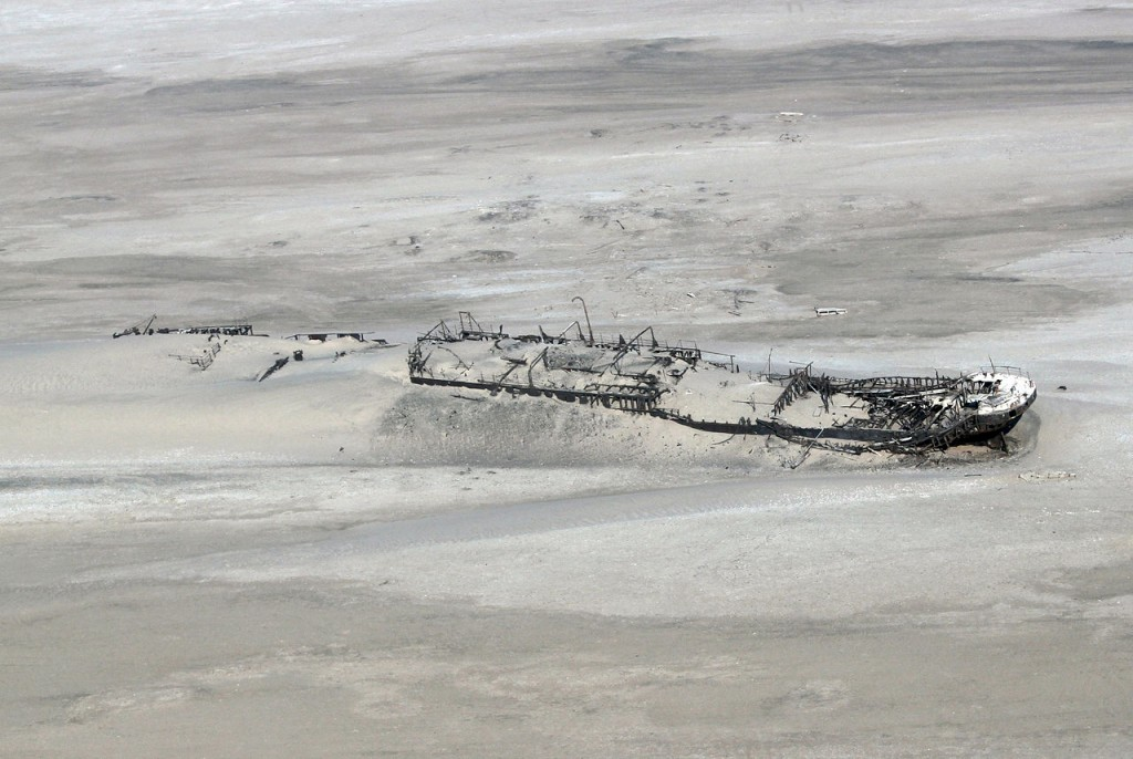 Eduard Bohlen, wrecked on Skeleton Coast, Namibia (source: wiki)