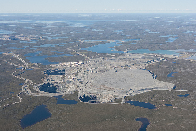 Ekati Diamond Mine, Canada (source: wiki)