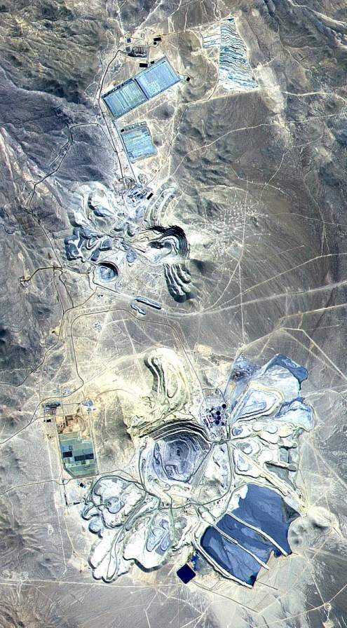 Most Incredible Open-Pit Mines: Escondida Mine, Chile (source: wiki)