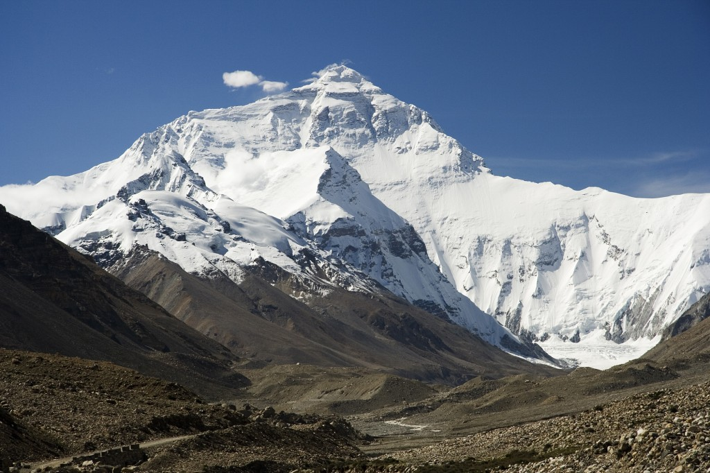 Mount Everest - highest mountain in the world