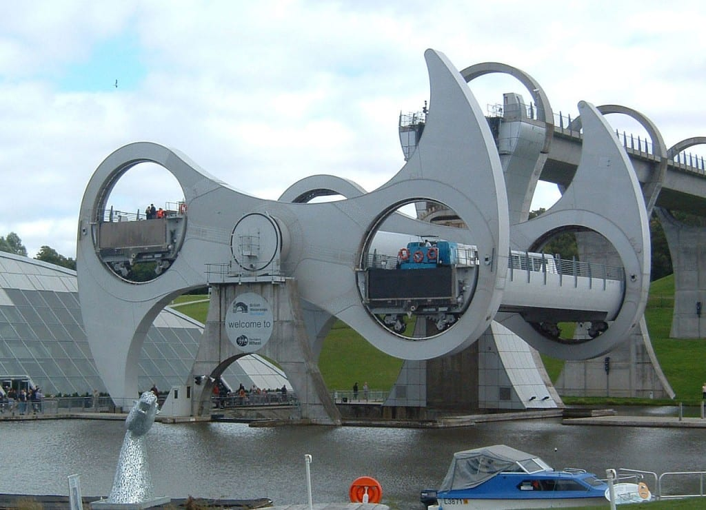 The Falkirk Wheel - Coolest Elevators