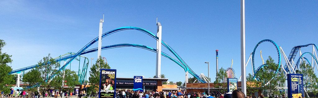 GateKeeper, Cedar Point Park, Ohio - highest inversion in the world
