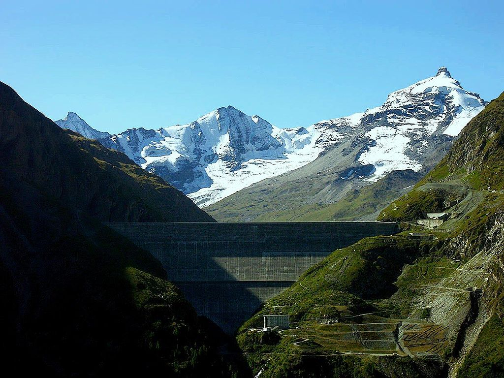 10 Tallest Dams In The World: Grande Dixence Dam