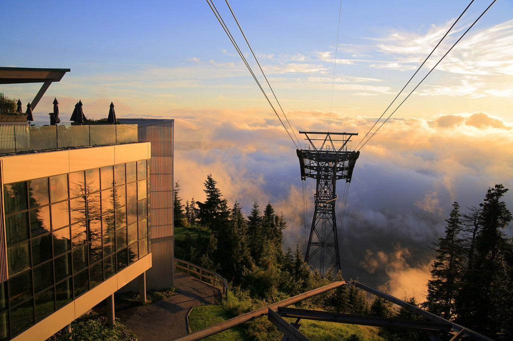 Grouse Mountain Skyride - British Columbia, Canada