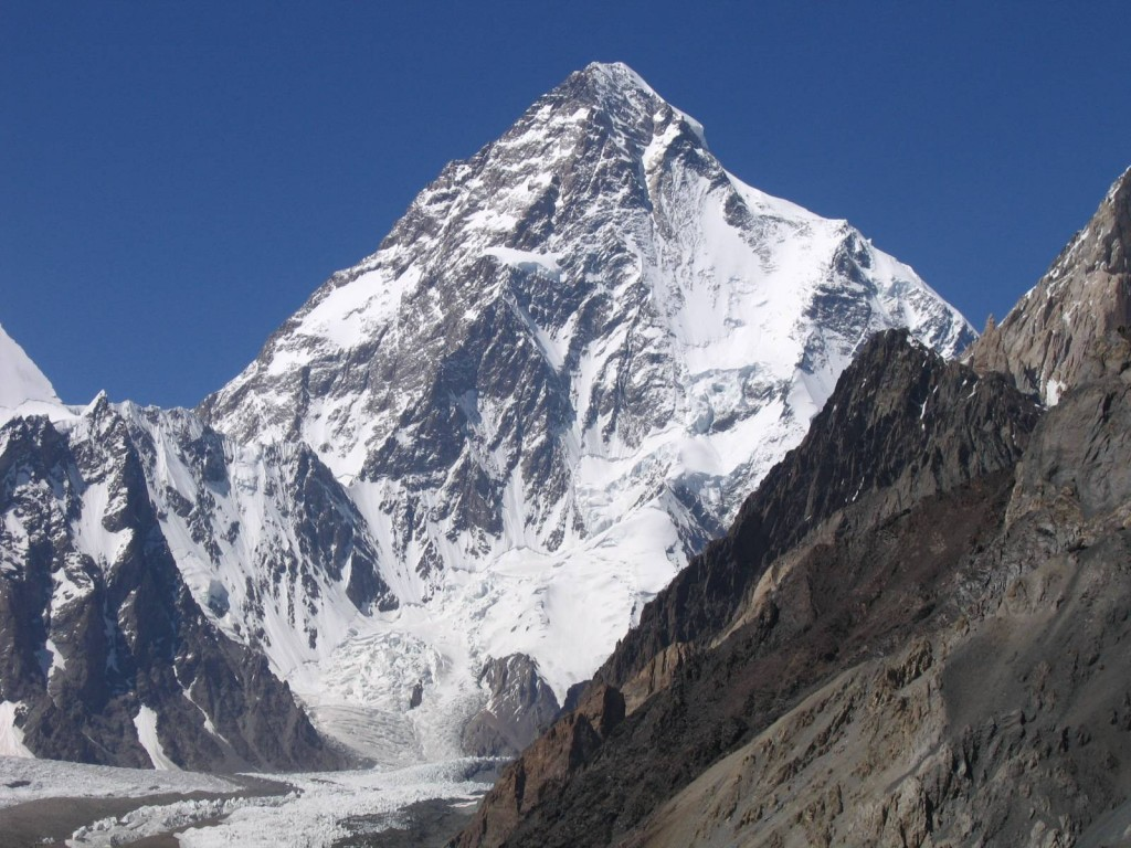 K2 Mountain. Second highest in the world