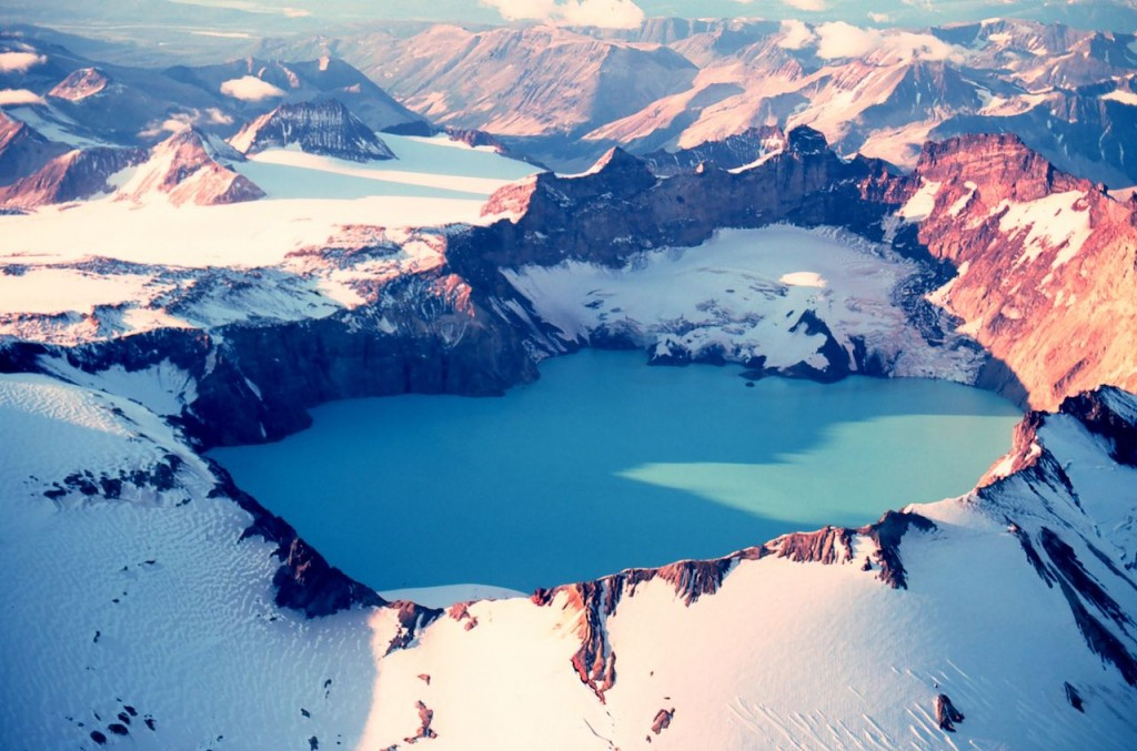 Mount Katmai Crater Lake, Alaska, United States
