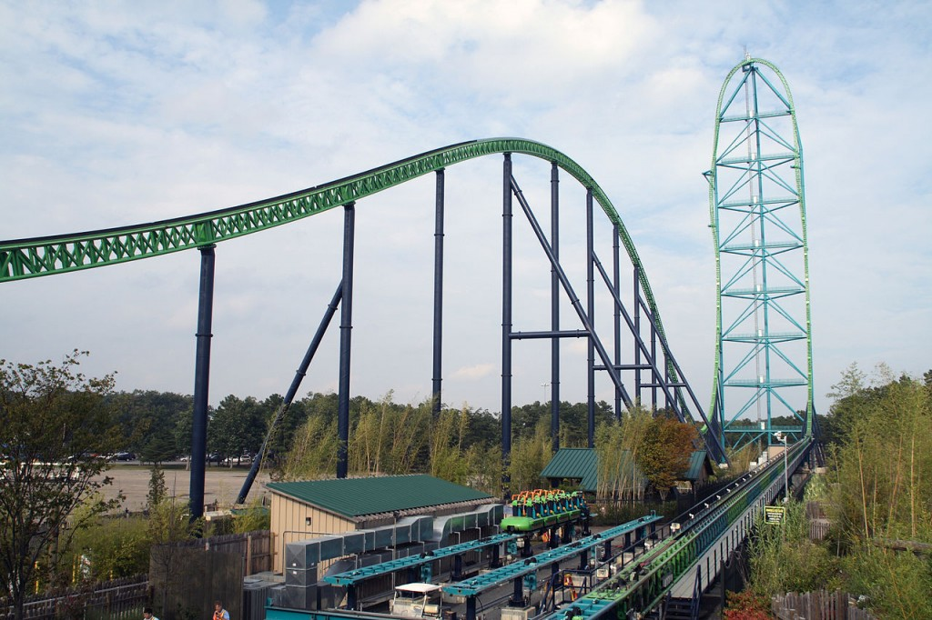 Kingda Ka - Best Roller Coasters