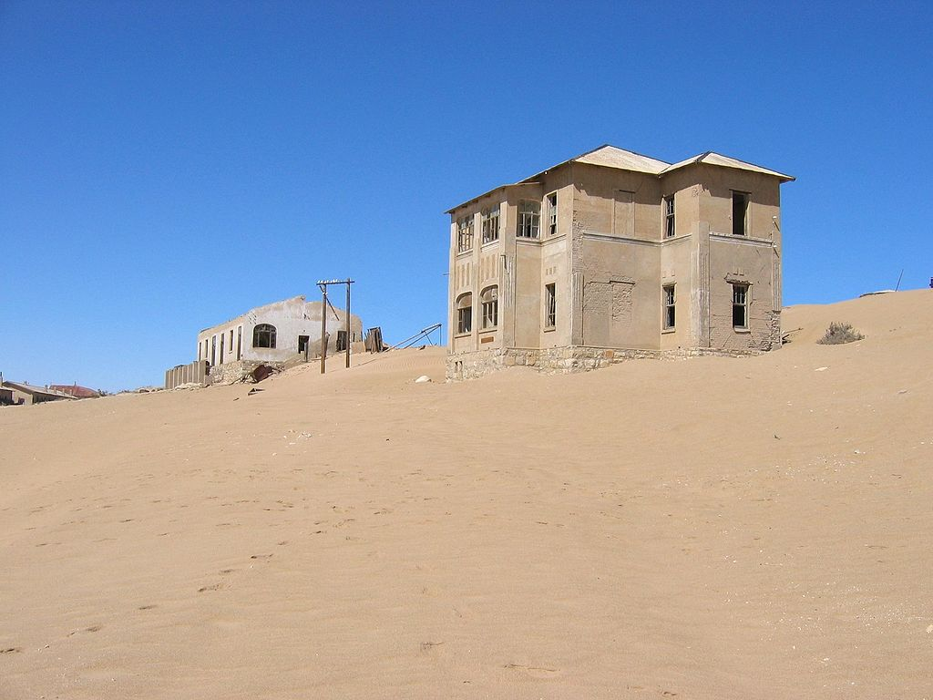 10 Most Amazing Ghost Towns: Kolmanskop, Namibia