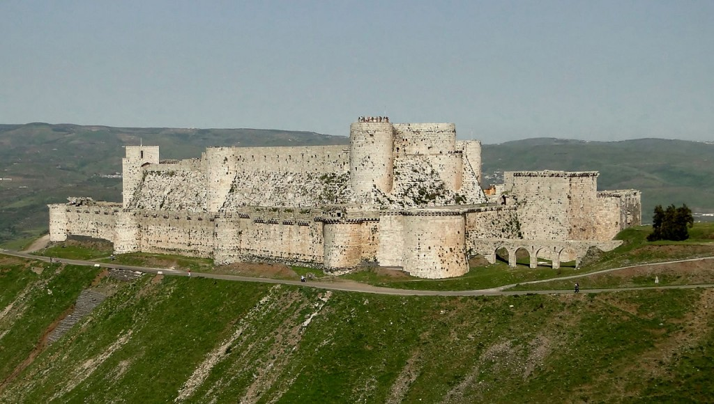10 Monuments Destroyed By War: Krak des Chevaliers