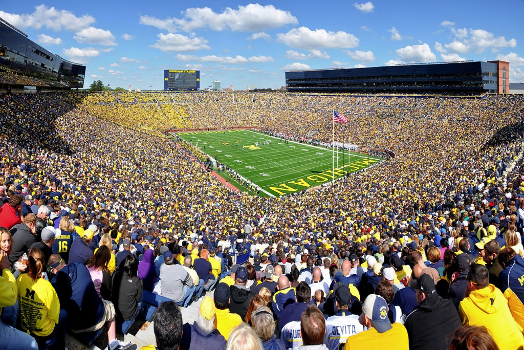 Michigan Stadium, Ann Arbor, MI, United States