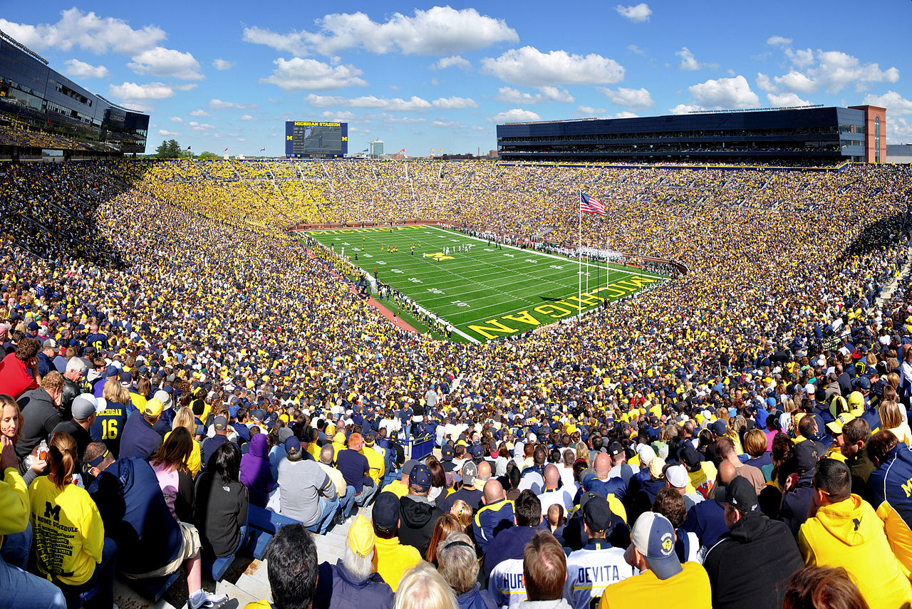 michigan stadium ann arbor mi united states