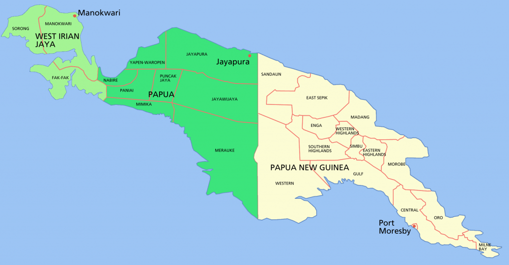 10 Largest Islands In The World: New guinea
