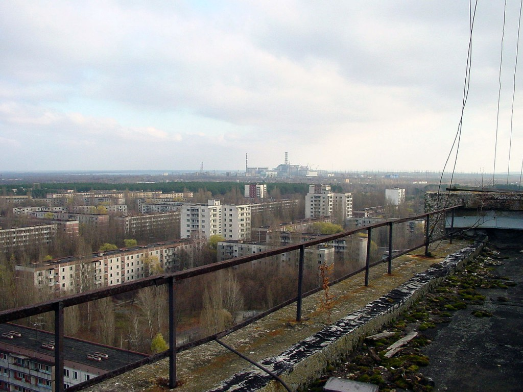 Pripyat -  abandoned since 26 April 1986 Chernobyl disaster