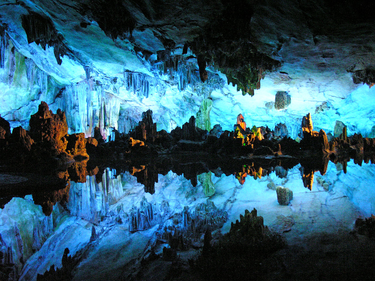 reed flute cave guilin china source wiki