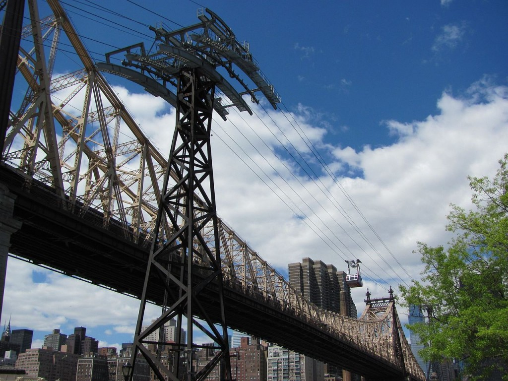 10 Most Amazing Aerial Lifts In The World: The Tramway to Roosevelt Island