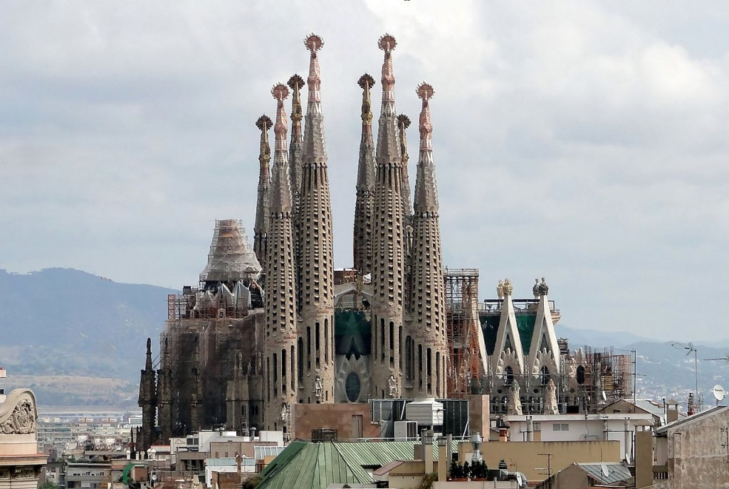 La Sagrada Familia in Barcelona - not to be missed