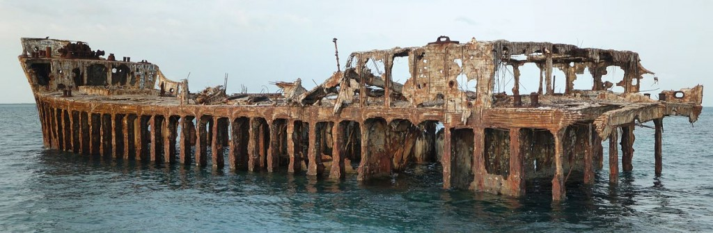 Most Incredible Shipwrecks: SS Sapona (source: wiki)
