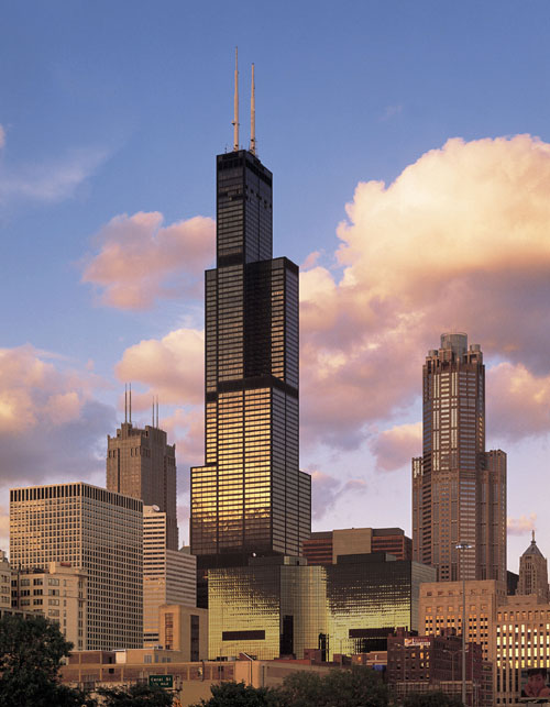 10 Tallest Buildings In The World: Willis Tower (Sears Tower), Chicago