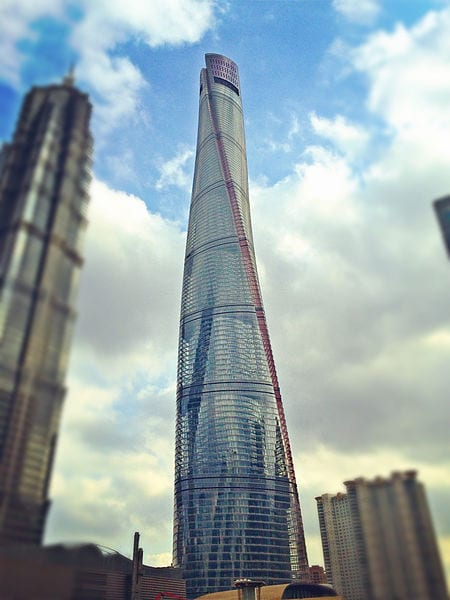Architectural Buildings In The World For Shanghai Tower Shanghai China Second Tallest Building In The World 10 Tallest Buildings In The World Most Today