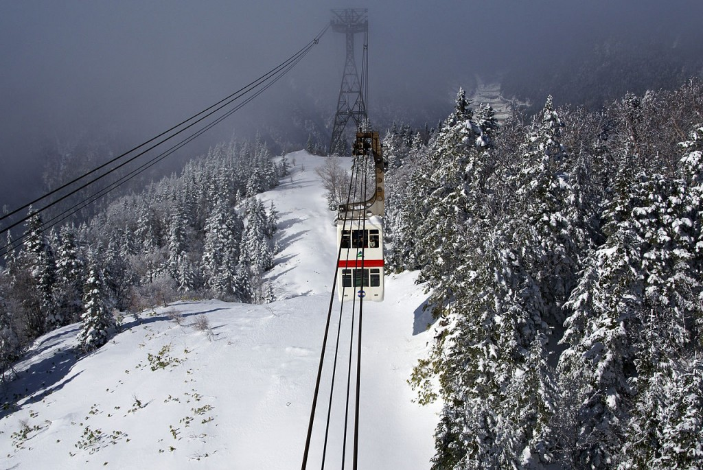 10 Most Amazing Aerial Lifts In The World: Mount Hotaka