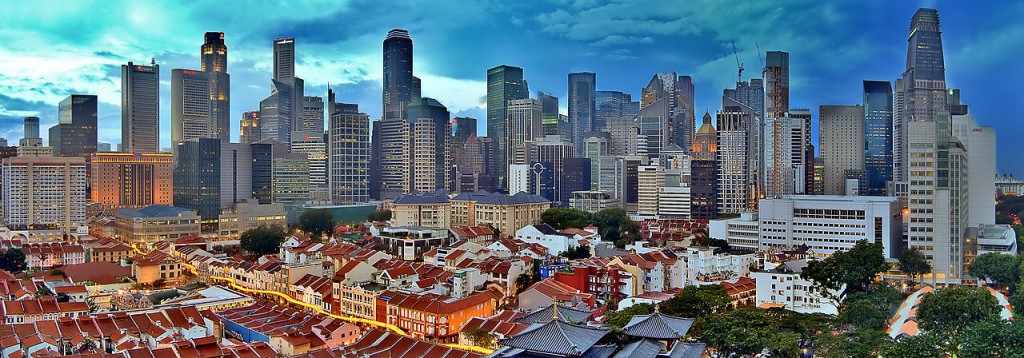 Singapore - this city-state is one of the most expensive cities in the world