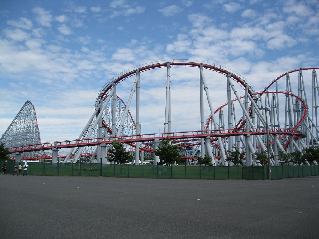 The Steel Dragon 2000 - The longest roller coaster in the world