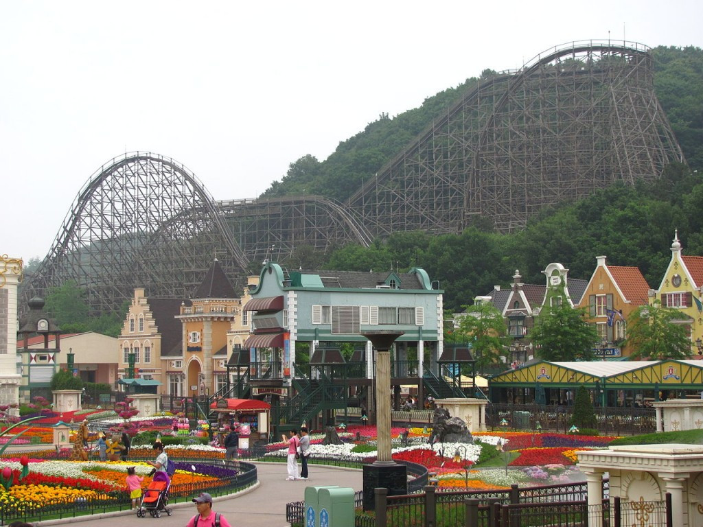 T Express, Everland, South Korea