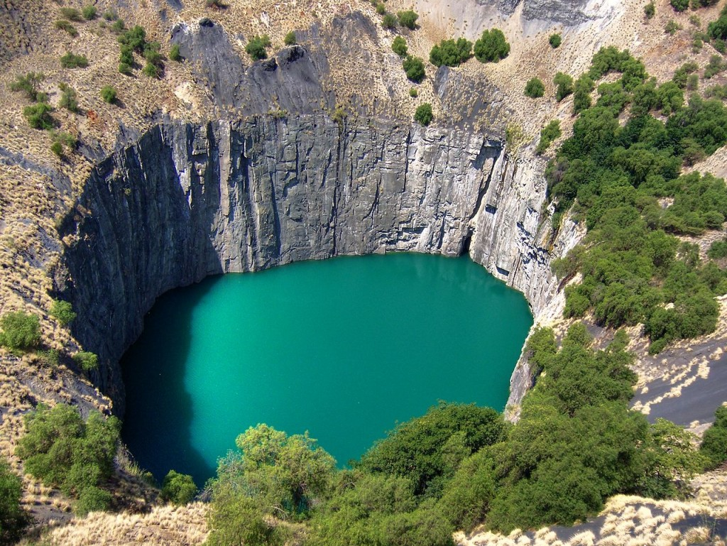 The Big Hole (Kimberley Mine), South Africa (source: wiki)