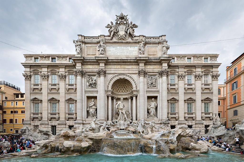 10 Most Famous Monuments In Europe: Trevi Fountain