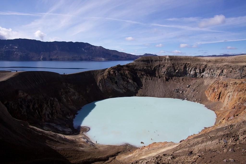 Viti Geothermal Lake, Iceland - Most Beautiful Crater Lakes