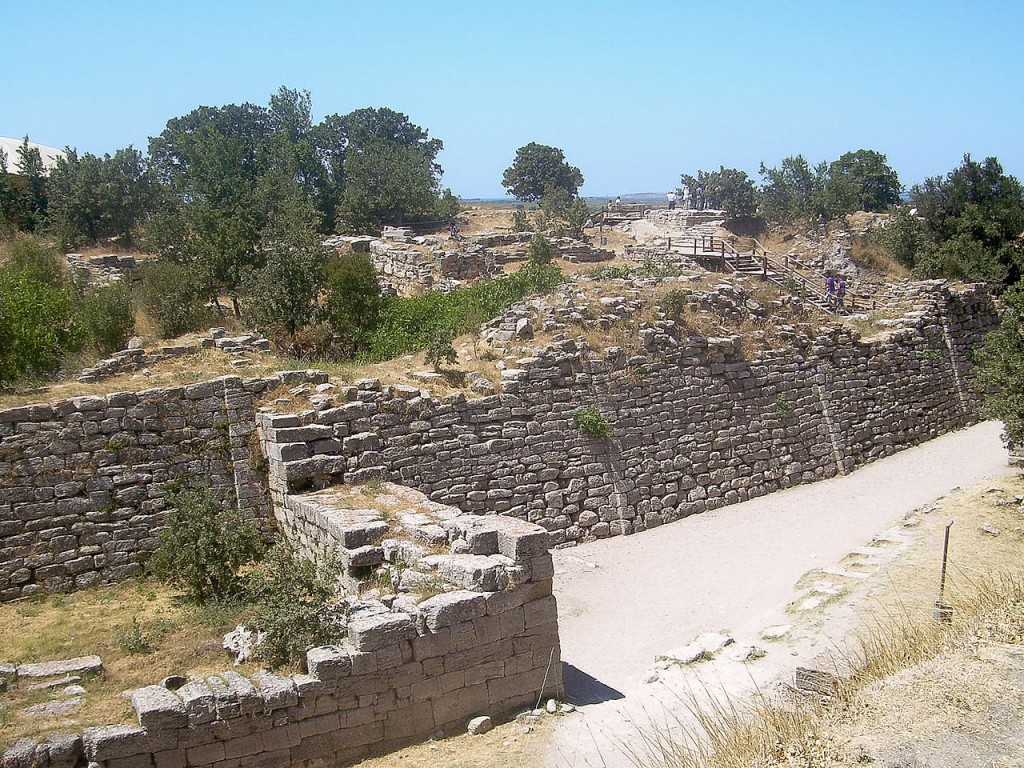 10 Most Famous Walls In The Worlds: Walls Of Troy