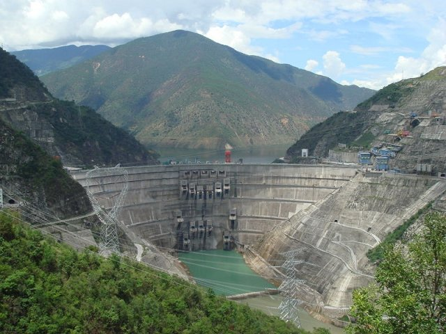 10 Tallest Dams In The World: Xiaowan Dam
