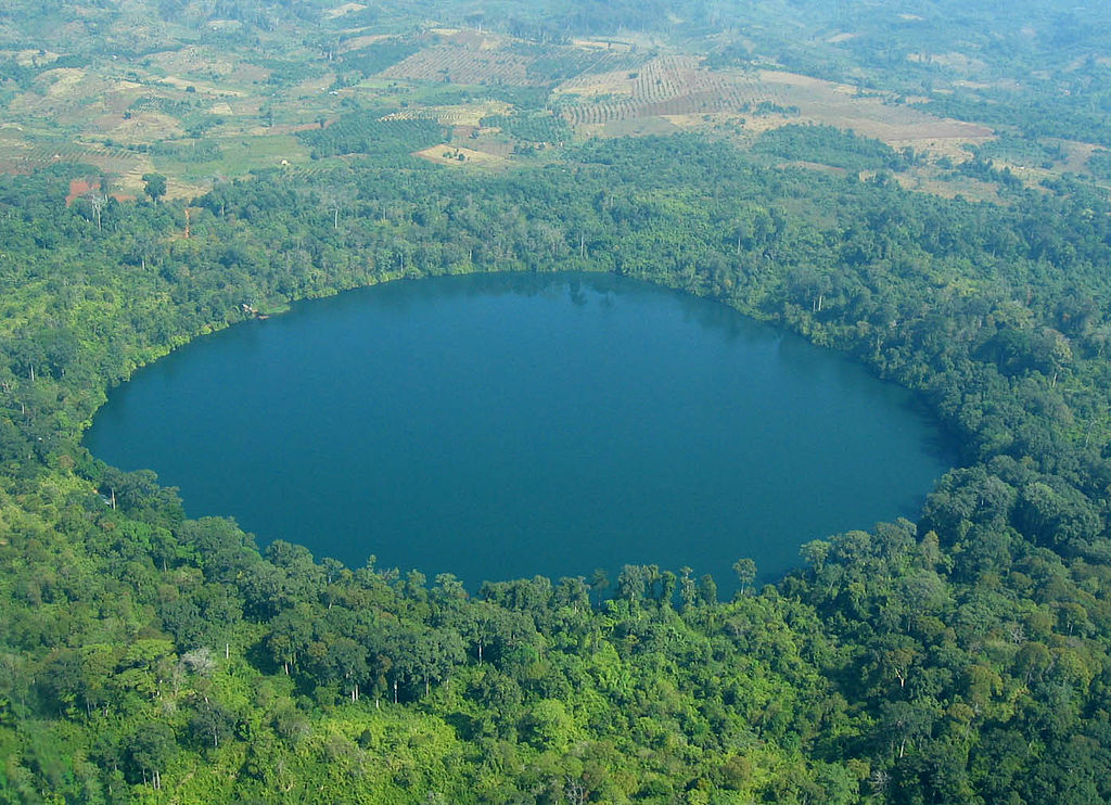 Yak Loum Crater Lake, Cambodia - Most Beautiful Crater Lakes