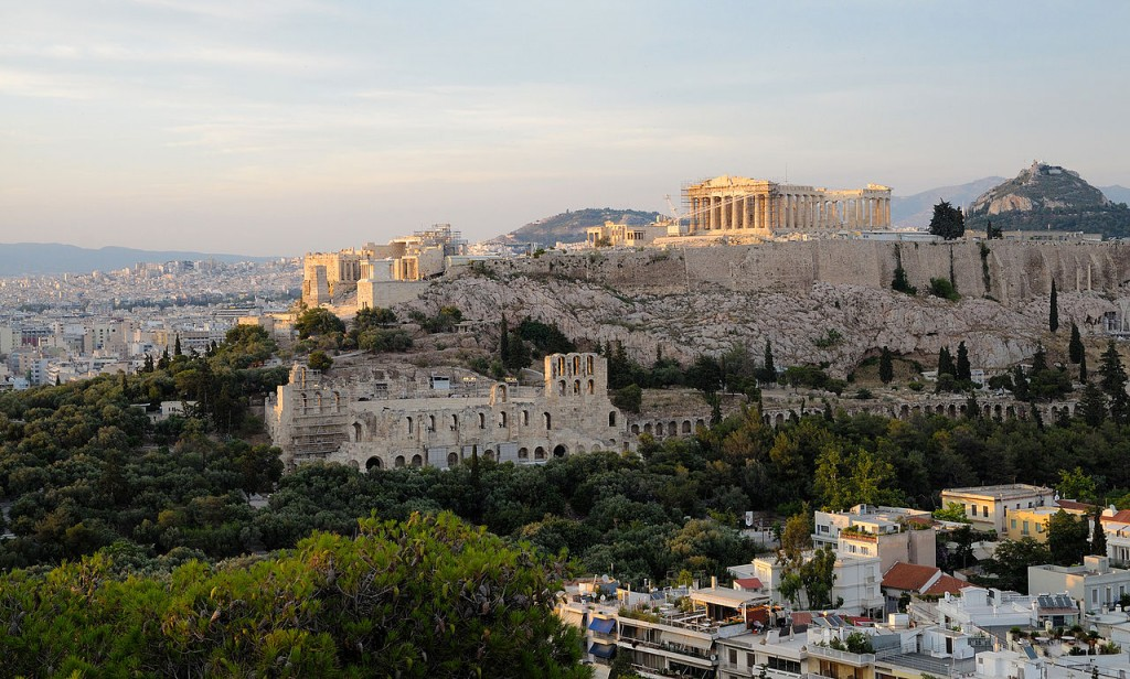 10 Most Famous Monuments In Europe: Acropolis Of Athens