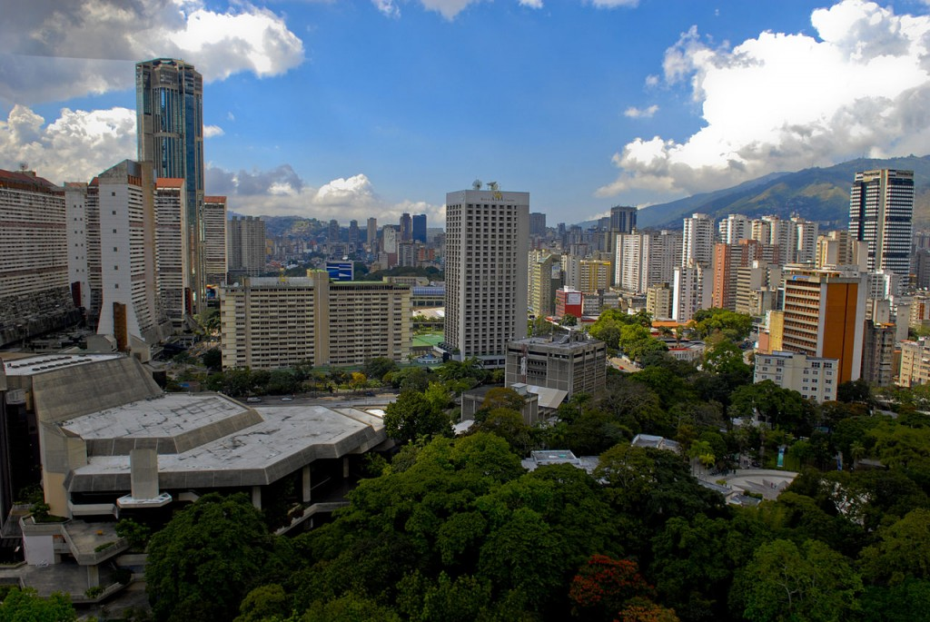 Caracas, Venezuela. Venezuela produces 3.02 million barrels of oil a day