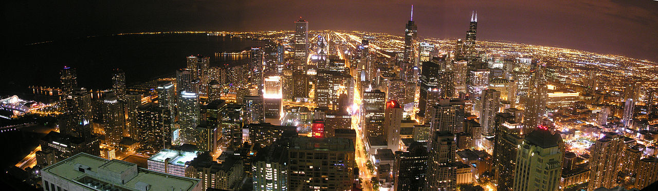 Chicago, Illinois - Illinois is the 5th largest state by population