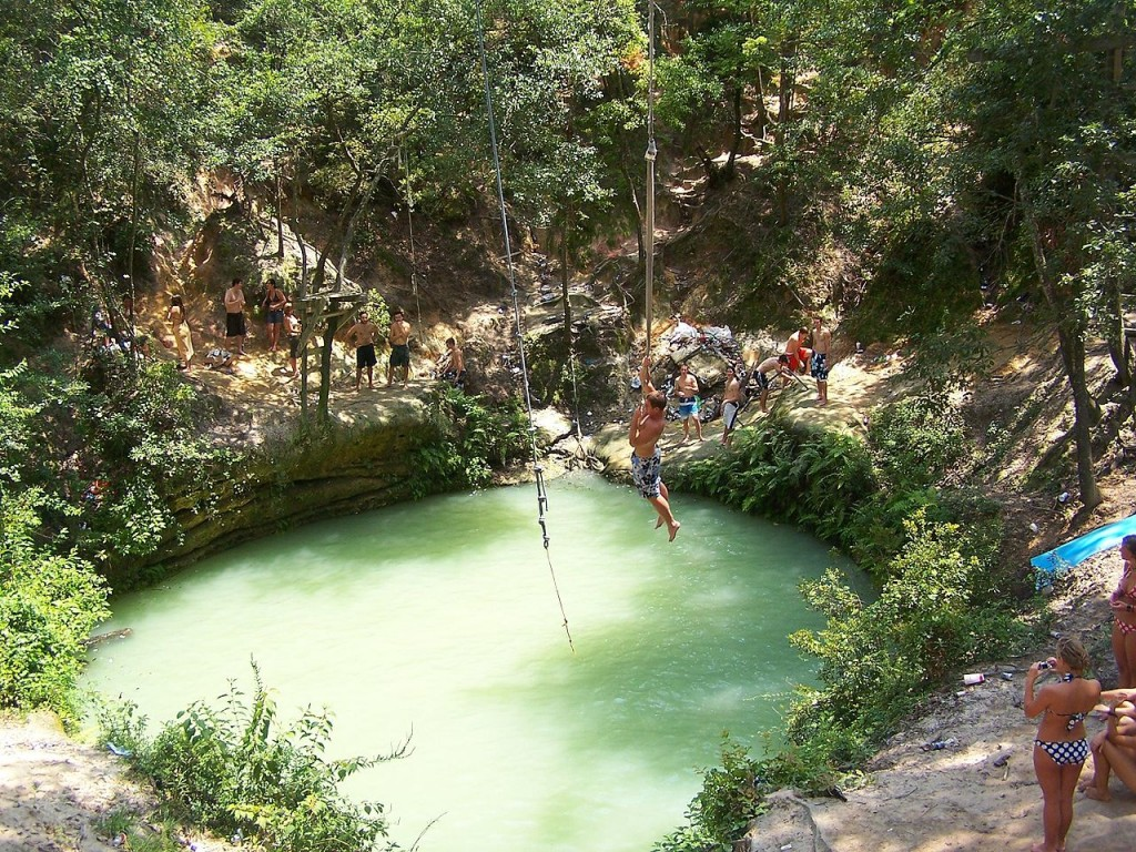 The Devil's toilet bowl (Devil's Hole), Florida