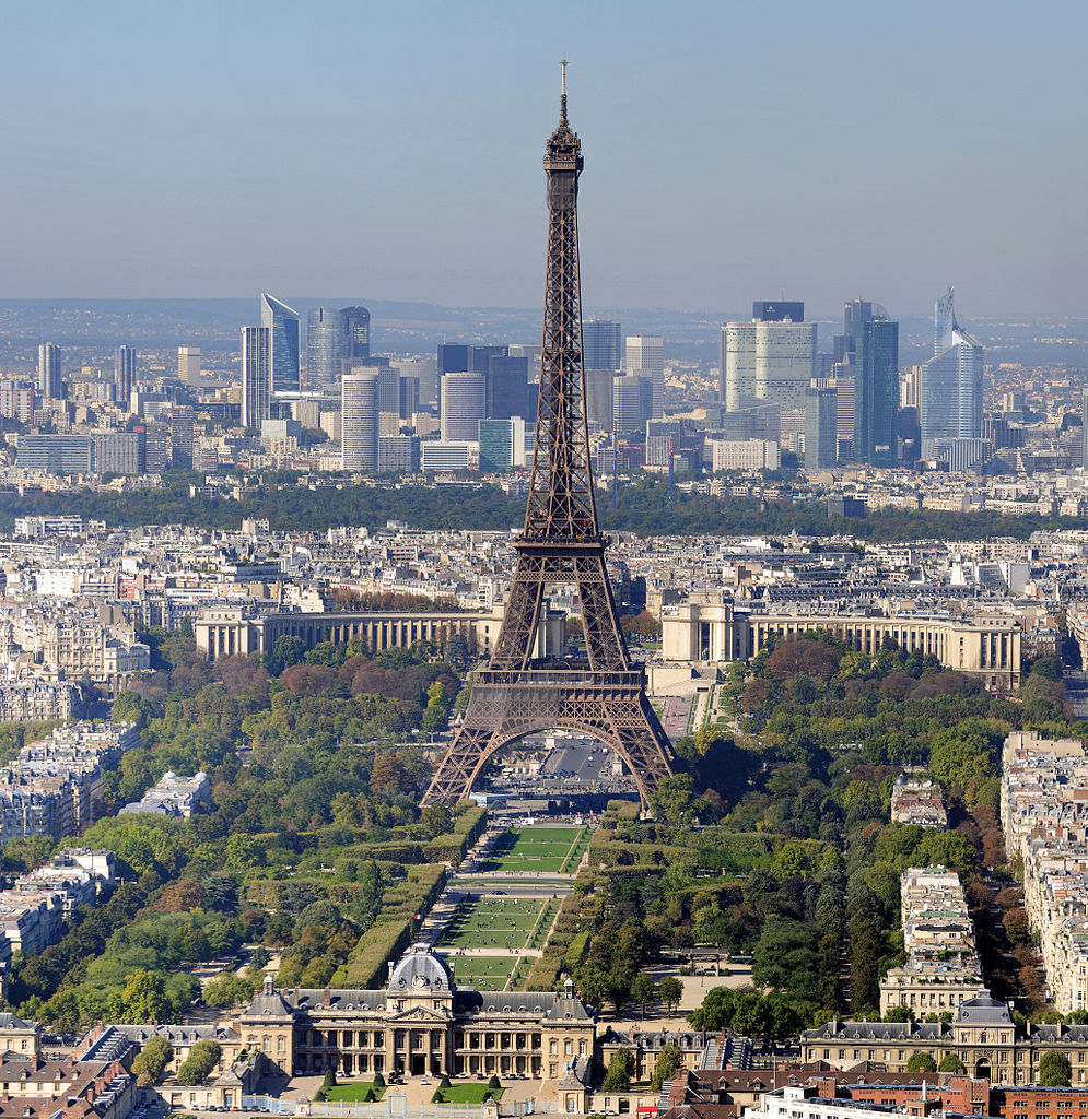 Eiffel Tower in Paris - most visited attraction in the most visited country