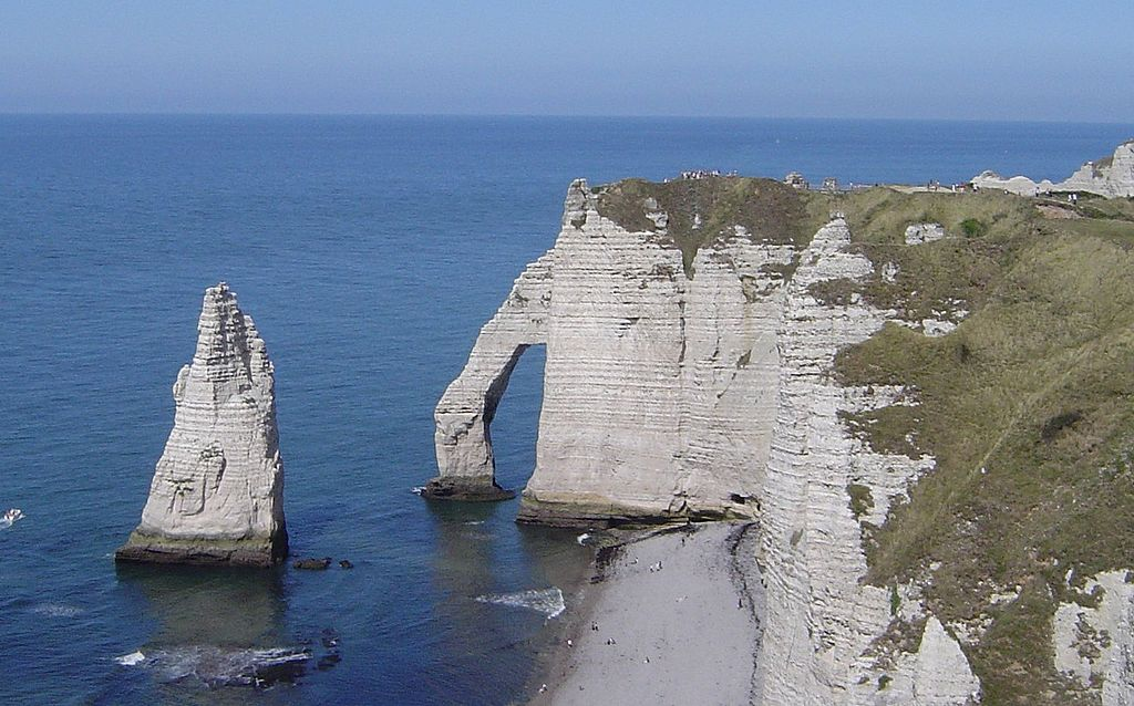 10 Most Incredible Sea Cliffs In The World: Etretat, France