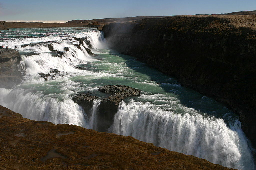 10 Most Amazing Waterfalls In The World: Gullfoss, Iceland
