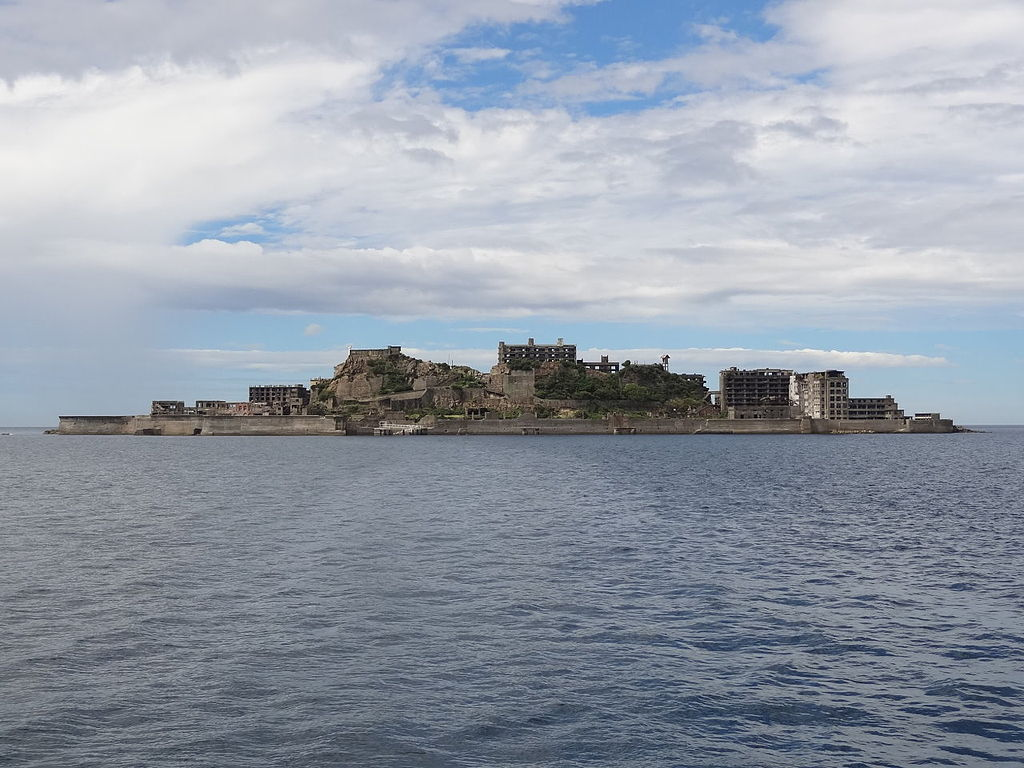 10 Most Amazing Ghost Towns: Hashima Island